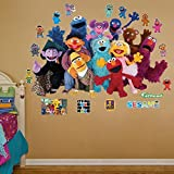 FATHEAD Sesame Street: Group Mural-Huge Officially Licensed Removable Graphic Wall Decal