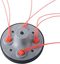 Podoy 55-491 Universal String Trimmer Head for Pivotrim 55-491 M10x1.25LHF