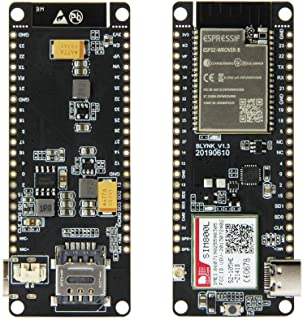 Guiping Módulo inteligente 2pcs T-Call V1.3 ESP32 módulo inalámbrico GPRS antena SIM tarjeta SIM800L Board