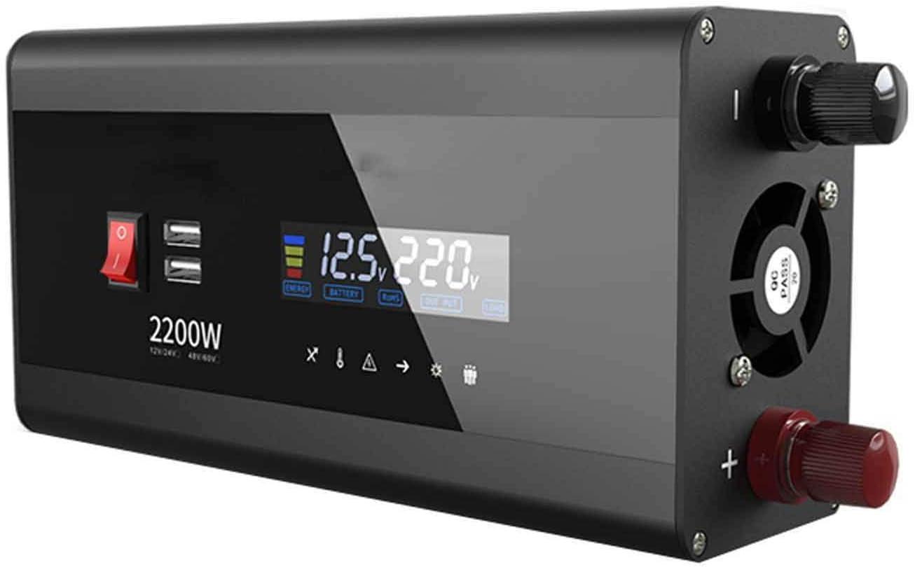 wangzi Power Inverter Pure 1 year warranty Free Shipping Cheap Bargain Gift Sine Home Conversi Wave Battery