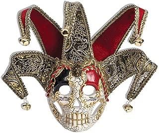 Forum Novelties Men's Venetian Style Jester Mask