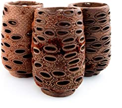 Banksia Seed Tea Light, Large, Eco-friendly, Aromatherapy, Sustainably Sourced, My Pure Earth