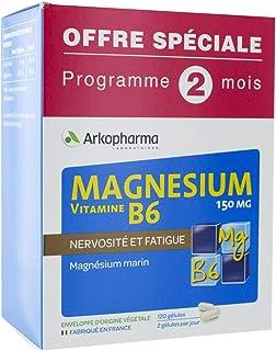 ARKOPHARMA Magnésium - Vitamine B6 150 mg Lot
