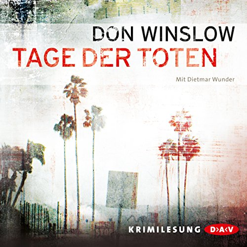 Tage der Toten audiobook cover art