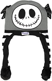 Jack Skellington Adult Black Flipeez Action Hat