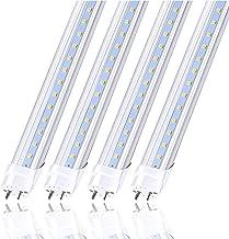 CNSUNWAY LIGHTING 4FT LED Light Bulbs, 22W (45W Equiv.), Dual-End Powered, Ballast Bypass, 2400 Lumens, 6000K Cool White, ...