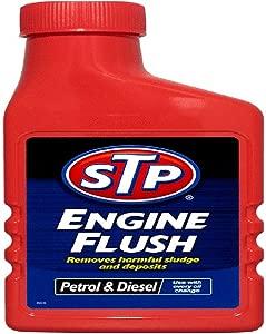 LLL STP Engine Flush 450ml For Petrol Diesel Engines Oil Flushing Clean Additive