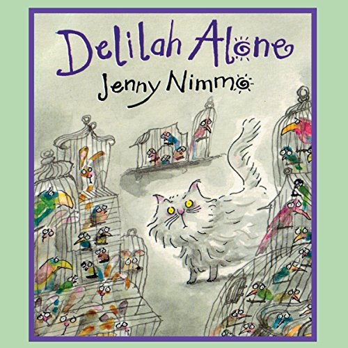 Delilah Alone audiobook cover art