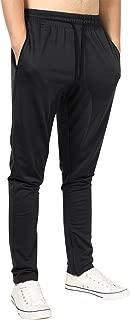 Men's Lightweight Joggers Pants Zipper Pockets Gym Workout Sweatpants