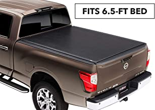 TruXedo Lo Pro Soft Roll-up Truck Bed Tonneau Cover | 588601 | fits 04-15 Nissan Titan with or w/o Track System 6'6