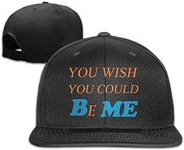 YL&GF You Wish You Could Be MeCLASSIC Men Women Baseball Adjustable Cap Trucker Hats Black