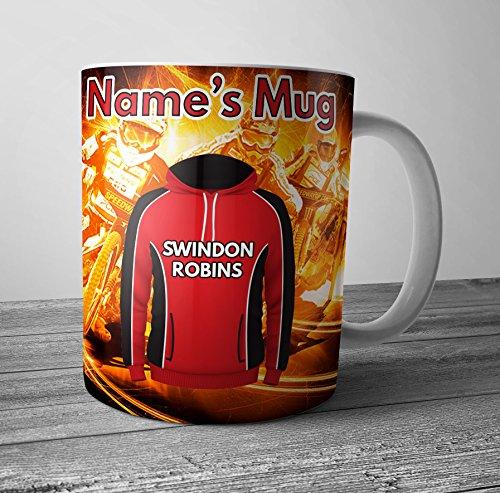 Speedway Swindon Robins - Taza, diseño de petirrojo