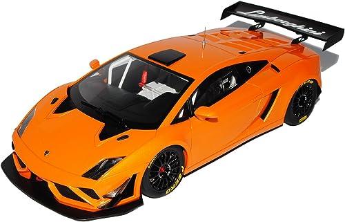 AUTOart Lamborghini Gallardo GT3 FL2 Coupe Orange 81357 1 18 Modell Auto mit individiuellem Wunschkennzeichen