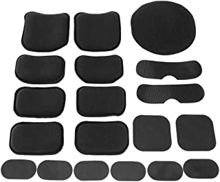 9PCS or 8PCS Airsoft Military Tactical FMA Helmet Replacement Pads Protector Set
