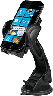 1 - Suction Cup Mount for Mobile Phone, GPS & PDA, Supreme suction cup designed to provide strong adhesion even on the roughest roads, Flexible design keeps device in view within easy reach, MGRIP2