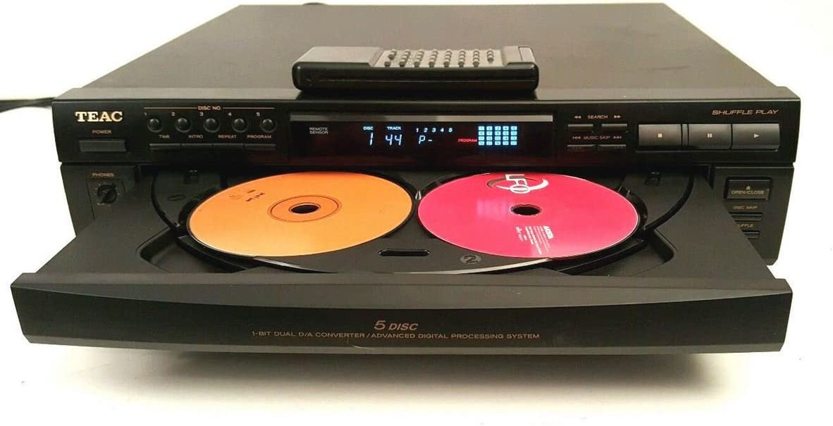 Finally popular brand Teac PD-D2500 Compact Disc Multi Player Direct sale of manufacturer