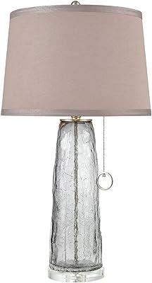 Elk Lighting D3634 Katajanokka Table Lamp, Grey Ombre Crackle