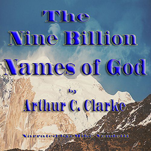 The Nine Billion Names of God audiobook cover art