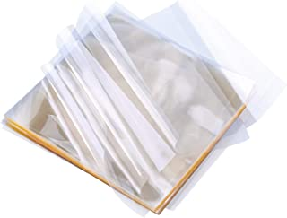 Resinta 600 Sheets Caramel Candy Wrappers Clear Non-stick Candy Cellophane Wrappers for Soft Cadies and Caramels, 5 Inch by 5 Inch