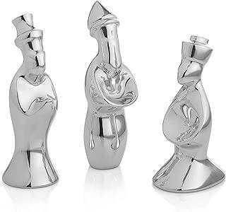 Nambe Miniature Nativity Figurines- Three Wise Men