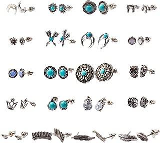 Best stud earrings turquoise Reviews