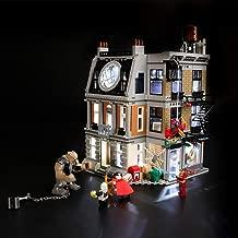 BRIKSMAX Led Lighting Kit for Marvel Super Heroes Avengers: Infinity War Sanctum Sanctorum Showdown - Compatible with Lego 76108 Building Blocks Model- Not Include The Lego Set
