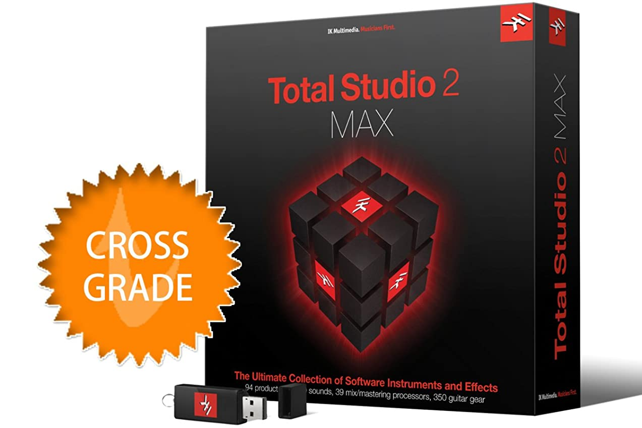 政治キャリッジ初期IK Multimedia Total Studio 2 Max クロスグレード ソフトウェア音源 & エフェクト?バンドル【国内正規品】