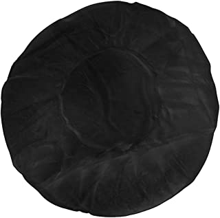 Canyon Rose Disposable Sunless Spray Tan/Spa Treatment Bouffant Cap, Black (100 Count)