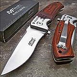 Best Mtech USA Knives - MTECH USA Mtech Ballistic Red Pakkawood Folding Blade Review