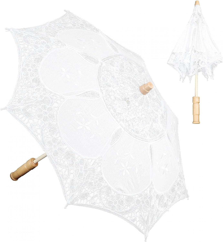 Uxsiya Lace Material Wedding Max 50% OFF Celebration Umbrella Super Special SALE held Dec or