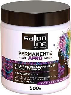 Permanente Afro - Creme de Relaxamento e Encacheamento, 500 ml, Salon Line
