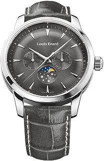 Louis Erard Heritage Collection Swiss Quartz Grey Dial Men's Watch 14910AA03.BDC103