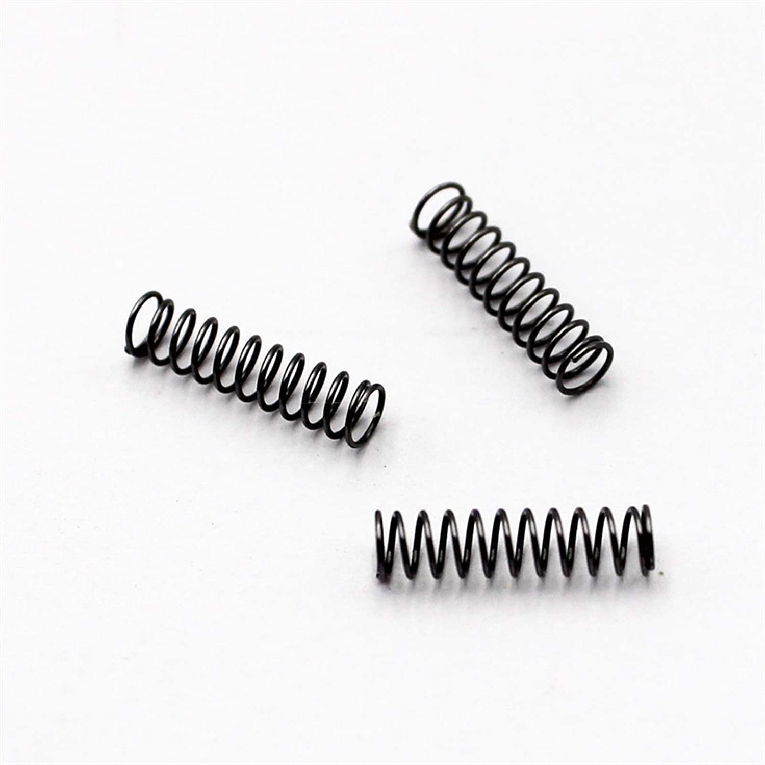 Length : 0.7x4x5mm 5pcs Temhyu Shuxiang-spring Small compression spring Wire diameter 0.7mm OD 4mm Length 5mm to 50mm