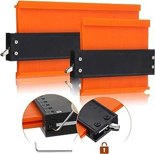 OUTERDO Contour Duplication Gauge-Adjustable Lock -Precisely Copy Irregular Shape Duplicator Construction(10 Inch 5 Inch)