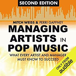 Managing Artists in Pop Music, Second Edition cover art