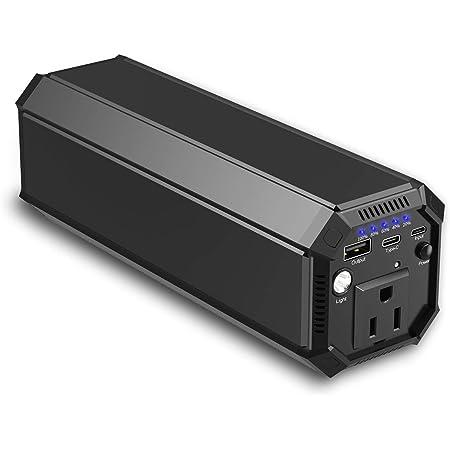 ポータブル電源 AC出力対応 モバイルバッテリー 31200mAh 大容量 正弦波 急速充電対応 車中泊 緊急・災害時バックアップ用電源 MacBook/ノートパソコン
