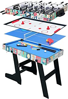riley 4 in 1 folding games table