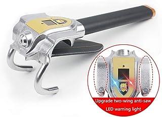 WZ Steering Wheel Lock, Antitheft Locking Devices Car Safety Hammer Locks - 3 Styles with 2 Keys (Color : B)