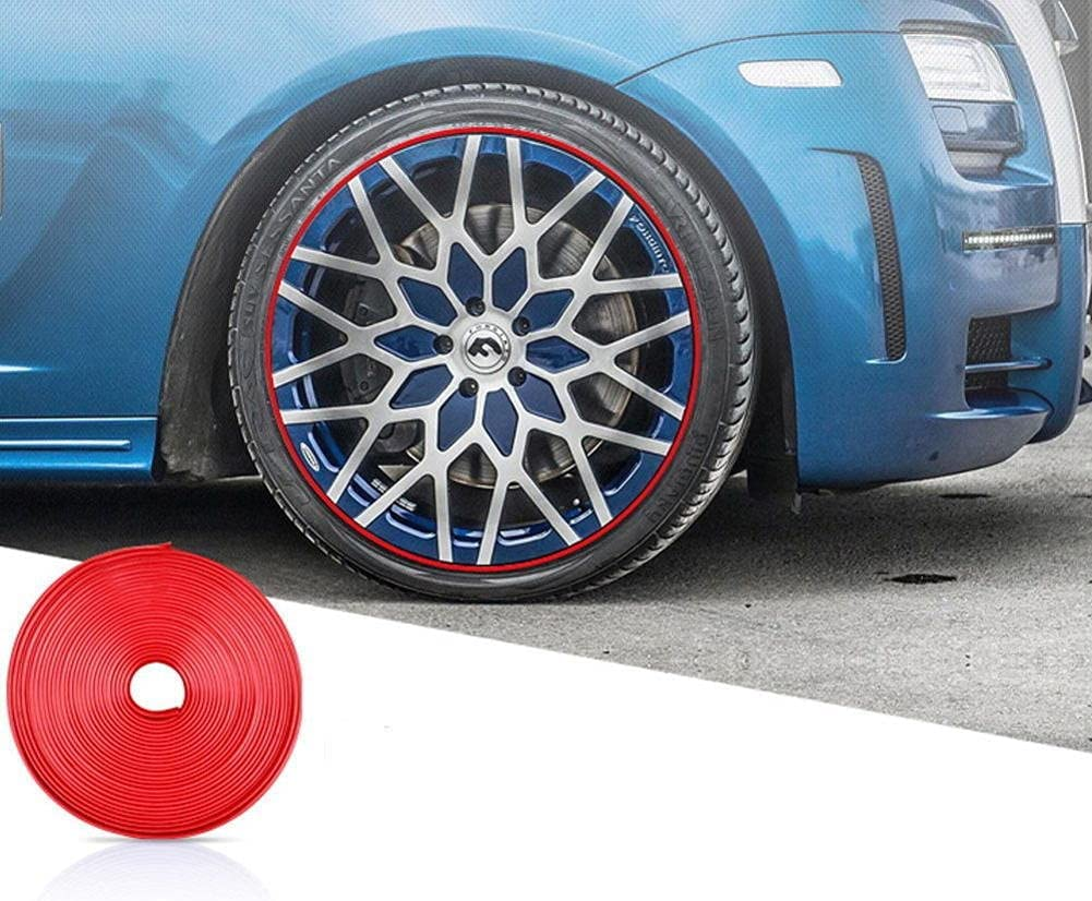 WQSNUB 10M OFFer Car Wheel Protector Strip Decorative Hub Sticker OFFicial