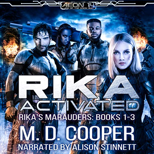 Rika Activated audiobook cover art