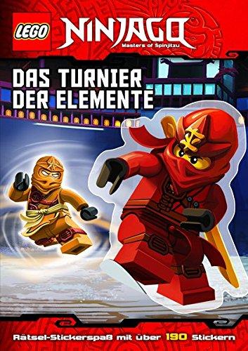 LEGO Ninjago: Das Turnier der Elemente (mit Stickerbögen)