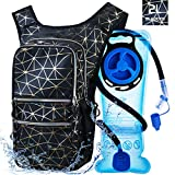 Mothybot Hiking Hydration Pack Backpack with 2l Water Bladder, Hydration Backpack for Men Women|with...