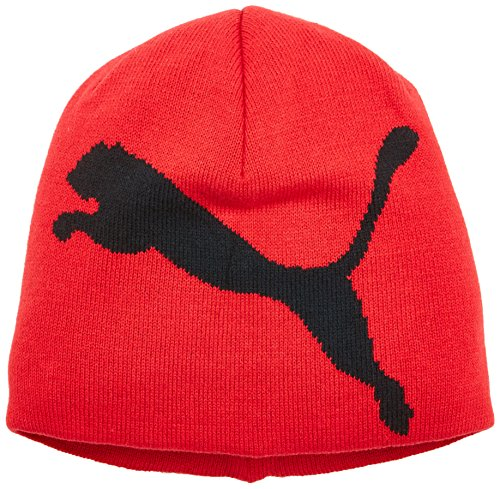 PUMA ESS Big Beanie, Toreador/Black Cat, One Size