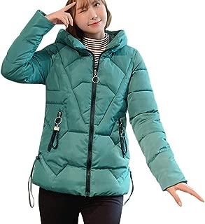 iHHAPY Women Puffer Jacket Winter Jacket Oversized Parka Coat Transition Jacket Warm Thick Hooded Jacket Plus Size