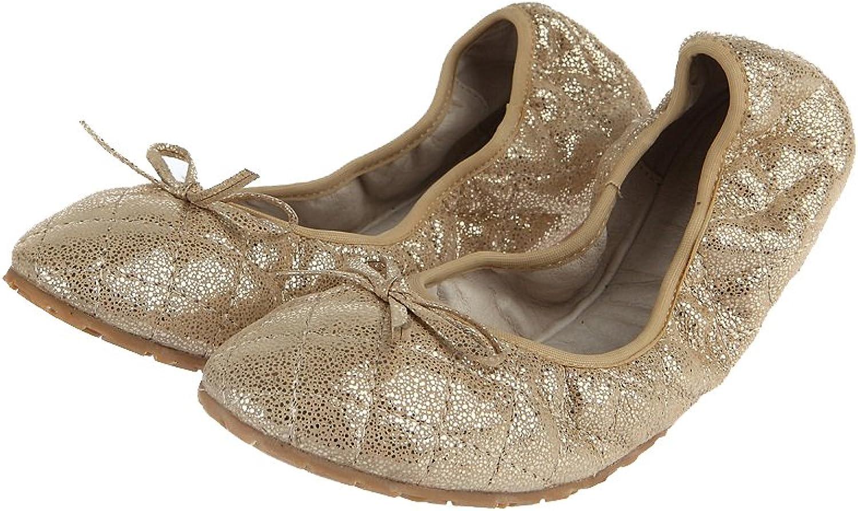 C & C Women's Genuine Leather Flat shoes