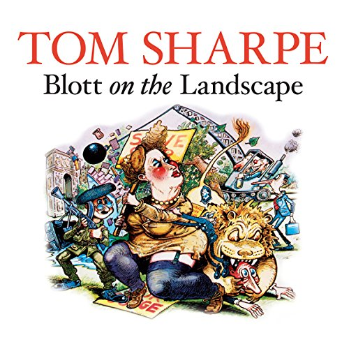 Blott on the Landscape audiobook cover art