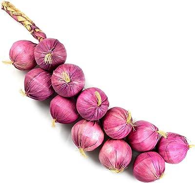 Reiki Crystal Products Artificial Onion (Dark Pink, 1 Piece).