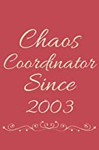 Chaos Coordinator Since 2003: Decorative Lined Journal