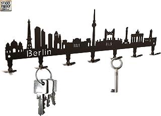 Schlüsselbrett / Hakenleiste * Skyline Berlin * - Schlüsse