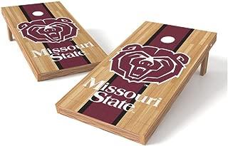 Wild Sports NCAA 2' x 4' Hardwood Authentic Cornhole Game Set